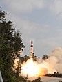 First test launch of Agni-V.jpg