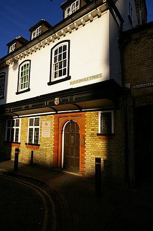Cambridge University Catholic Chaplaincy - Fisher House, home of the chaplaincy since 1924.