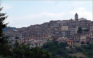 Fiuggi Comune in Lazio, Italy