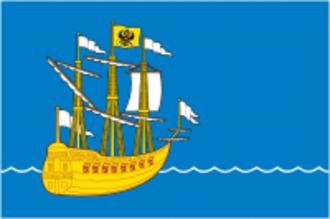 Lodeynoye Pole - Image: Flag of Lodeinoe Pole (Leningrad oblast)