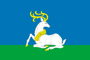 Odintsovsky District - Image: Flag of Odintsovsky rayon (Moscow oblast)