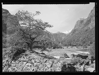 Romsdalen - Boulder landscape at Flatmark photo:Jac Brun