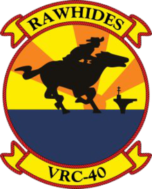 Fleet Logistics Support Squadron 40 (United States Navy) insignia, 1991.png