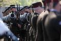 Flickr - Saeima - Svinīgā vainagu nolikšanas ceremonija Rīgas Brāļu kapos (3).jpg