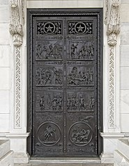 Revolutionary War Door
