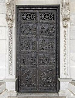 Revolutionary War Door