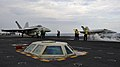 Flight deck operations aboard USS Nimitz (26559134709).jpg