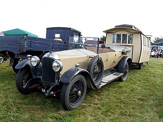 Vauxhall 23-60 - 23-60 tourer briefly at rest first registered 25 May 1923
