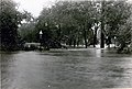 "Flood of River des Peres in Forest Park at De Soto Bridge; ""The water is at least a foot below the crest."" 20 August 1915.jpg"