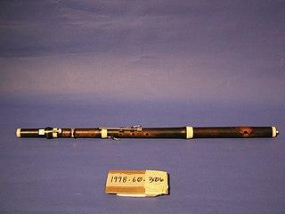 Five-key flute
