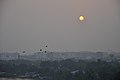 Flying Egrets & Equinox Sunset - Kolkata 2012-03-20 9331.JPG