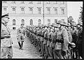 """Fo30141711140061 """"Reservebataljon Holmestrand paraderer for Quisling på Slottsplassen"""" 1942-06-14 (NTBs krigsarkiv, Riksarkivet).jpg"""