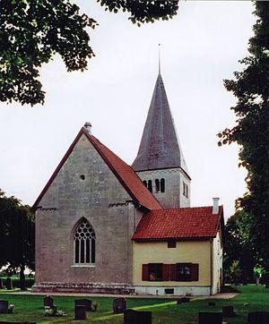 Follingbo Church - Image: Follingbo kyrka Gotland Total