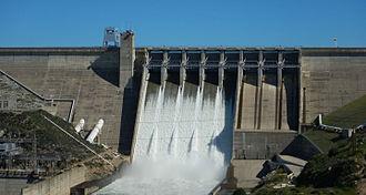 Folsom Dam - Folsom Dam release