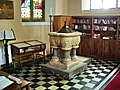 Font, All Saints Church, Cockermouth - geograph.org.uk - 474525.jpg