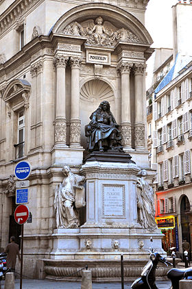 Image illustrative de l'article Fontaine Molière