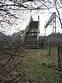 Footbridge at Acton Bridge - geograph.org.uk - 1773495.jpg