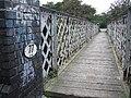 Footbridge over the Derby to Birmingham train line - geograph.org.uk - 54829.jpg