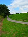 Footpath to Falmer Station - geograph.org.uk - 521560.jpg