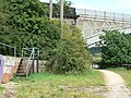 Footpath under the viaduct - geograph.org.uk - 1389467.jpg