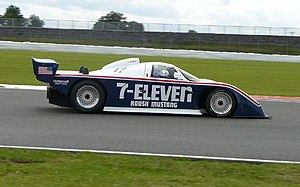 Jack Roush - A Roush-engineered Ford Mustang Probe IMSA GTP car.