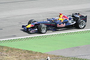 2006 German Grand Prix - David Coulthard qualified in the top ten in Red Bull Racing's second season of Formula One.