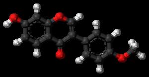 Formononetin - Image: Formononetin 3D balls