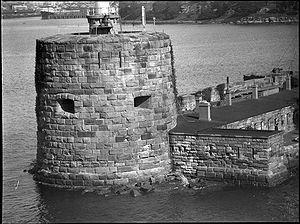 Fort Denison - Fort Denison circa 1930