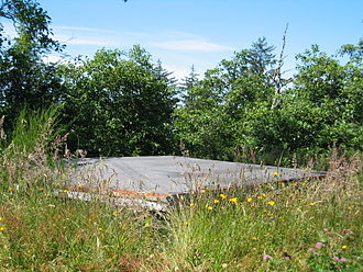 Fort Stevens (Oregon) - Image: Fort Stevens bunker