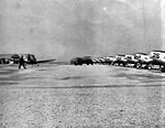 Fort Stockton Field - Fairchild PT-19s on Flightline.jpg