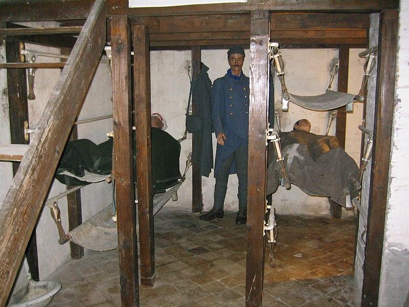 Fort de Vaux - L'infirmerie