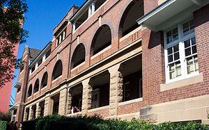 Fort Street High School - The Wilkins building of the present Fort Street High School