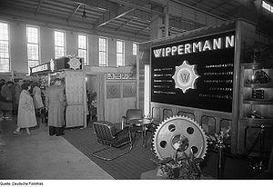 Wippermann - Wippermann at Leipzig Trade Fair 1954