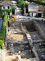Fouilles de l'abbaye de Fontdouce - juillet 2006.JPG