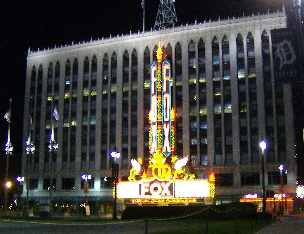 Abandoned Places In Washington Fox Theatre Detroit Wikipedia