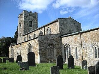 Foxton, Leicestershire - Image: Foxton Church
