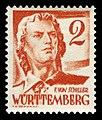 Fr. Zone Württemberg 1948 28 Friedrich Schiller.jpg
