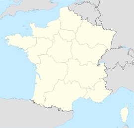 Étupes is located in Francije