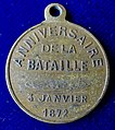 Franco-Prussian War, Battle of Bapaume (1871) French 1st Anniversary Medal 1872, obverse.jpg