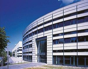 Fraunhofer Institute for Solar Energy Systems - Main building of Fraunhofer ISE in Freiburg/Germany