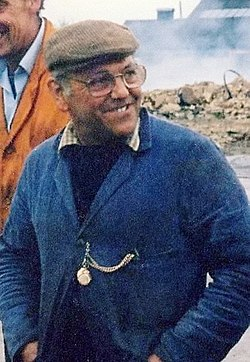 Fred dibnah in 1985