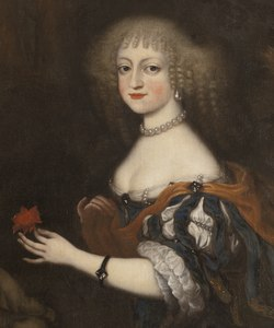 Fredrika Amalia, 1649-1704, prinsessa av Danmark, hertiginna av Holstein-Gottorp (Juriaen Ovens) - Nationalmuseum - 15929.tif