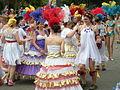 Fremont Solstice Parade 2008 - samba dancers 12.jpg