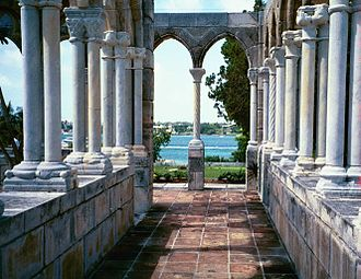 Huntington Hartford - 14th-century French cloisters reassembled by Hartford on Paradise Island