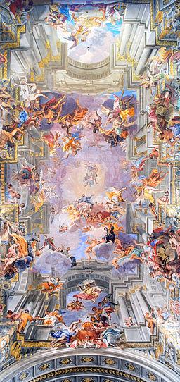 Frescos of Ignatius of Loyola HDR