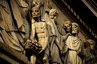 Frieze of the Cathedral of Buenos AiresAuthor: Federico Petronio
