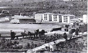 Frosinone Calcio - The stadium Matusa, constructed in 1932.