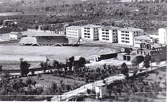 Frosinone Calcio - The stadium Matusa, constructed in 1932.