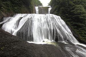 Fukuroda Falls - Image: Fukuroda Falls 袋田の滝(ふくろだのたき)