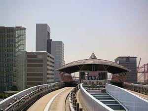 Fune-no-kagakukan Station - Image: Funenokagakukan eki 1
